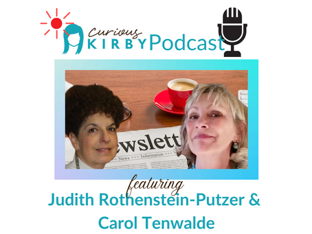 Artist Newsletters with Carol Tenwalde and Judith Rothenstein-Putzer