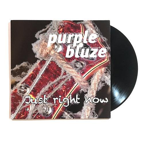 Purple Bluze Just Right Now LP