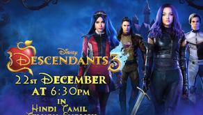 Disney Descendants Trilogy Premiere on Disney Channel India