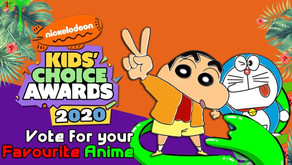 Vote for your Favourite Anime in the Nickelodeon Kids' Choice Awards 2020 (India)
