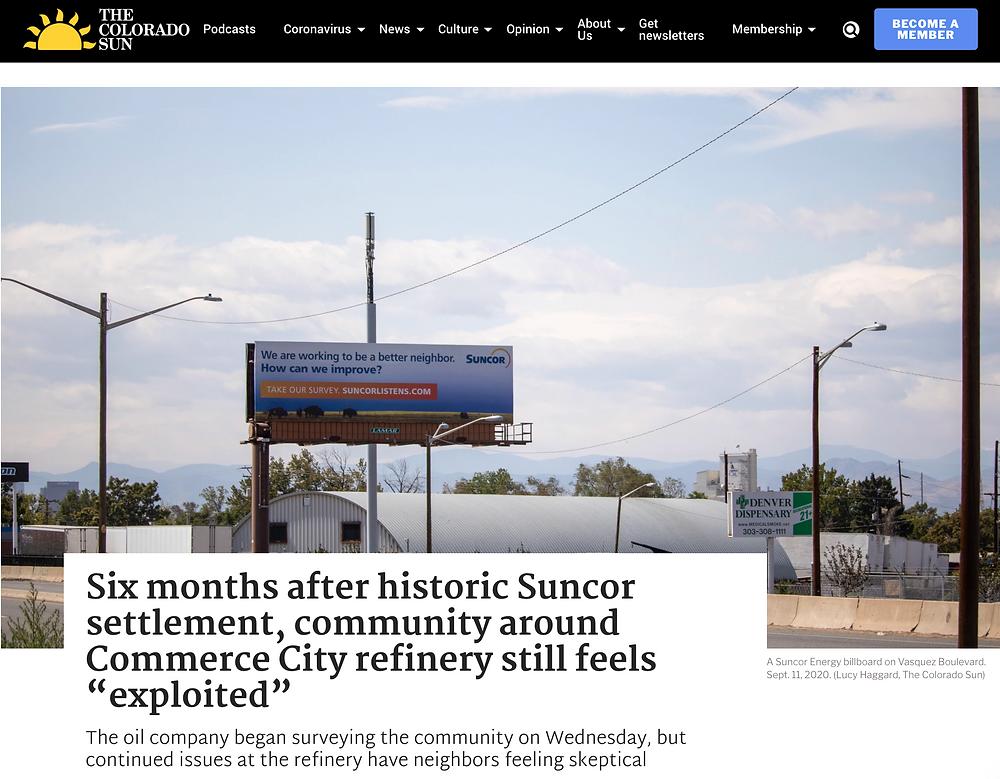 SunCor Air Pollution in Denver