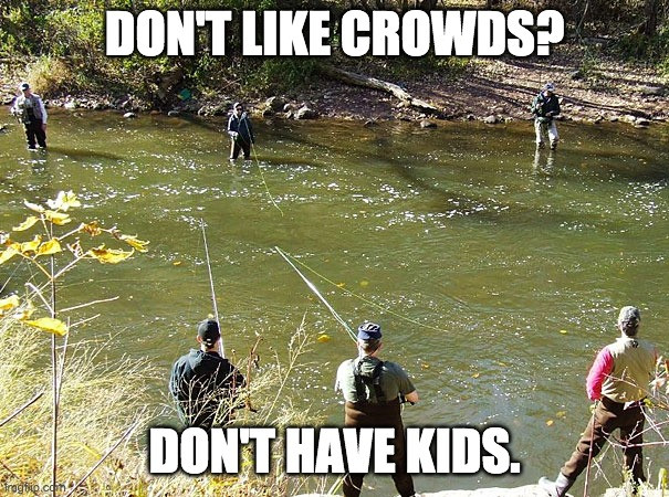 Denver Yimby - Overpopulation Meme: Don't like crowds? Don't have kids.