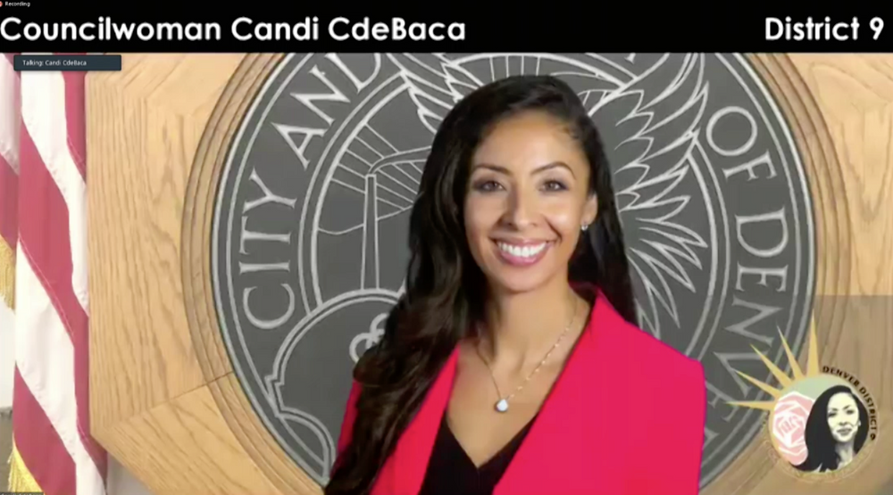 Council Woman Candi CdeBaca represented her neighborhood!
