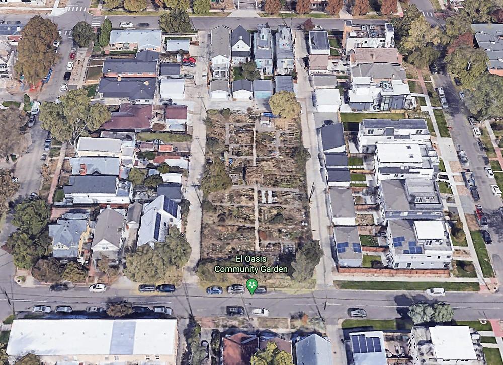Denver Urban Gardens selling donated land of El Oasis Community Garden to Developers