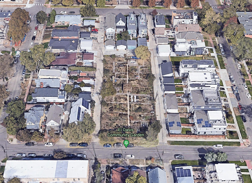 The City and D.U.G. recently allowed for a developer to purchase one of the few community gardens to become overpriced Duplexes
