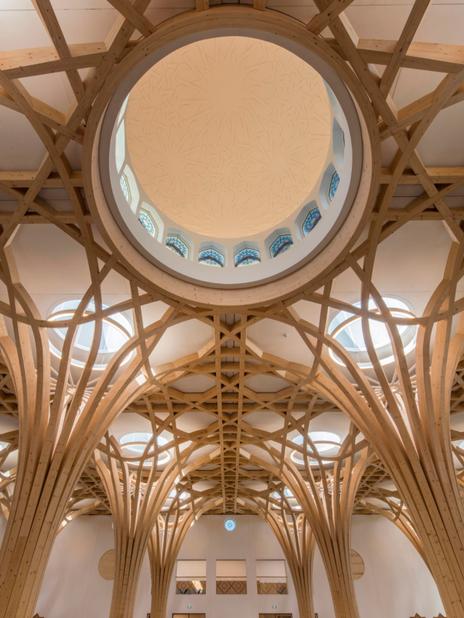 Cambridge Mosque, Marks Barfield