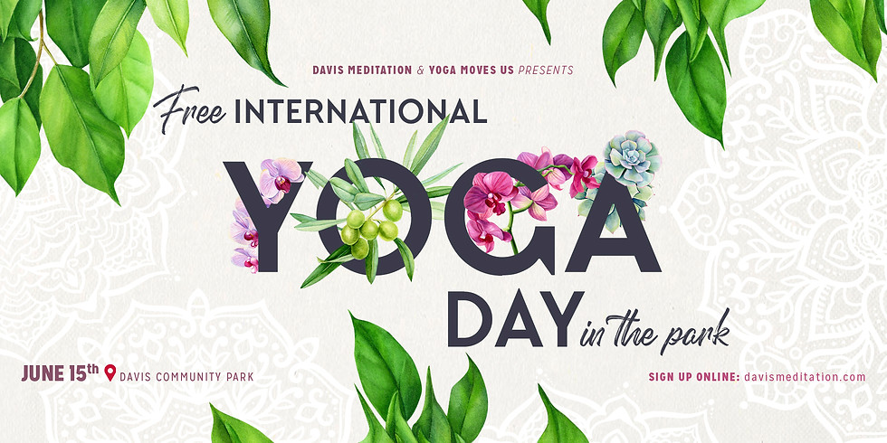 International Yoga Day is Coming Up!