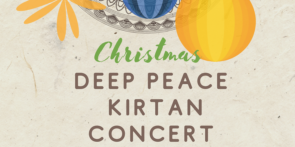 DEEP PEACE KIRTAN CONCERT