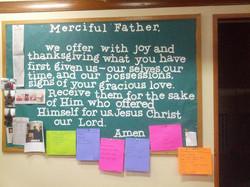 Offertory Prayer by Youth