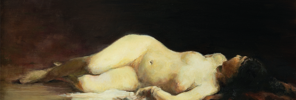 Reclining Nude - Limited Edition