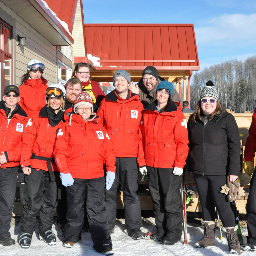 Tawatinaw Valley Ski Patrol Team