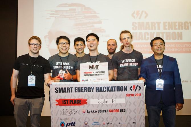 Smart Energy Hackthon Ends