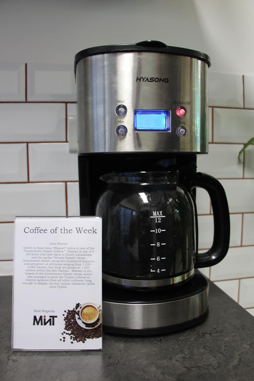 Coworking Coffee of the week