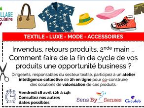 Atelier en ligne lutte contre le gaspillage vestimentaire