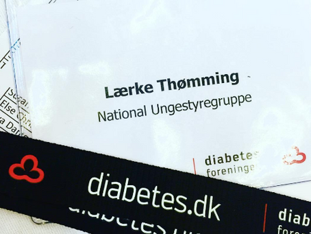 del 1. NUS  Mit frivillige arbejde for diabetes forenigen
