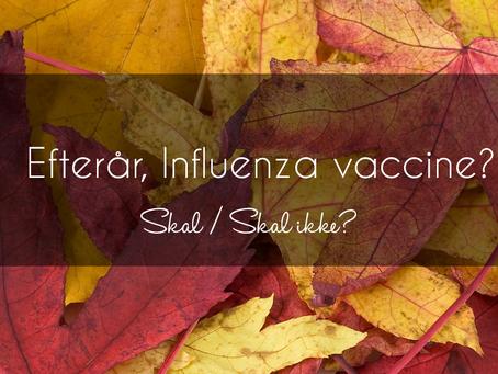 Influenza Vaccine // Hva sys du Lærke? 😃💙✨ 🍁🍂🍃