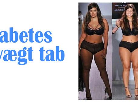 Diabetes og Vægt tabt.