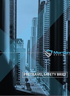 Pretravel Safety Report
