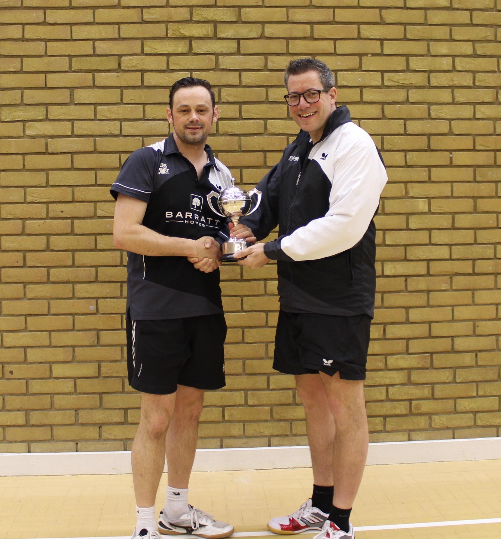 Winner of Senior Trophy