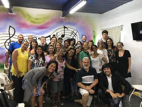 Palestra para professores no Eduardo Guimaraes