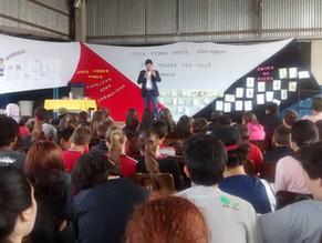 Fome de Ler - 4 escolas visitadas em Canoas -RS