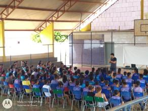 Palestras sobre sexualidade para jovens do interior do Pará