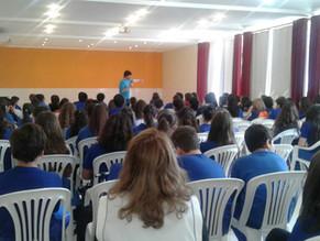 Colégio Santa Cecília adota diversas obras do escritor João Pedro Roriz