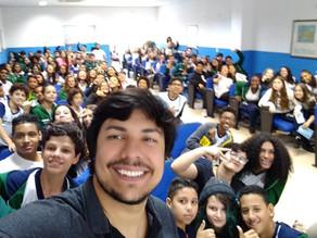 Bate-papo nas escolas de São Caetano