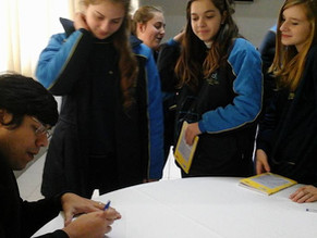 Palestra e adoção literária no Sinodal de Lajeado-RS