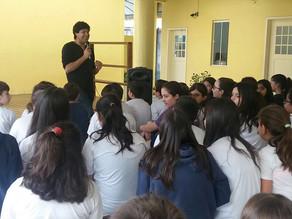 Escolas em Florianópolis convite da Livraria Paulus