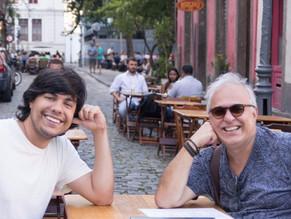 Encontro com Celso Sisto no Centro do Rio
