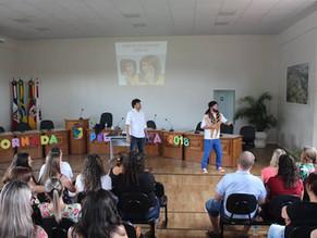 Jornada pedagógica em Capela de Santana