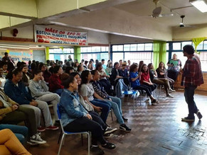 Bate-papo com alunos da Pasqualini