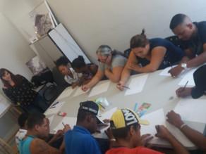 """Oficina """"novos rumos"""" para jovens do CREAS Epitácio"""