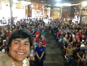 Palestra para 600 adolescentes em Capela de Santana - RS