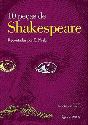 10 peças de Shakespeare