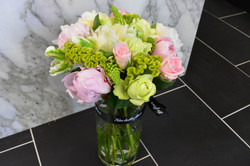 Peonies and Rose Bouquet