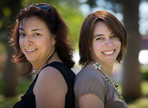 Les fondatrices - Laure et Amélie