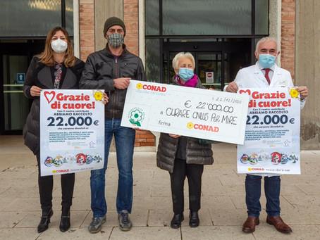 Conad donati 22mila euro