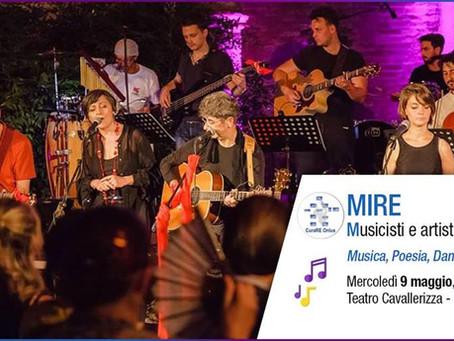 9 MAGGIO ore 20.30 - MIRE · Musicisti e artisti In progREss