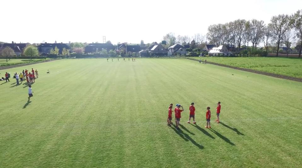Opening frisbeeveld Brugge