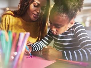 Children and Mom's work towards strengthening bonds