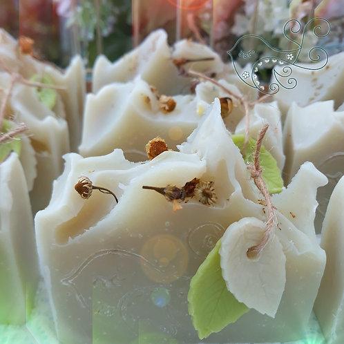Breezy Island Soap Bar (Rosemary Lavender & Green Clay)