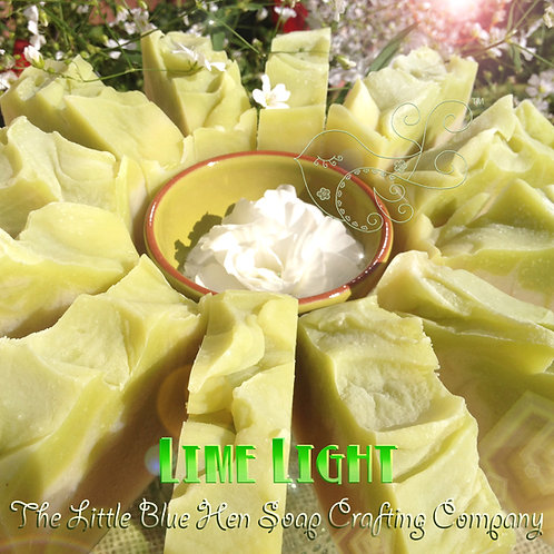 Lime Light Soap Bar (Spicy Lime)