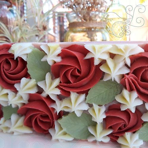 Rose Garden Soap Bar (Palmarosa Geranium & Pink Clay)