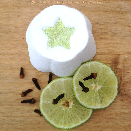 Lime Light Bathing Fizzy (Spicy Lime)