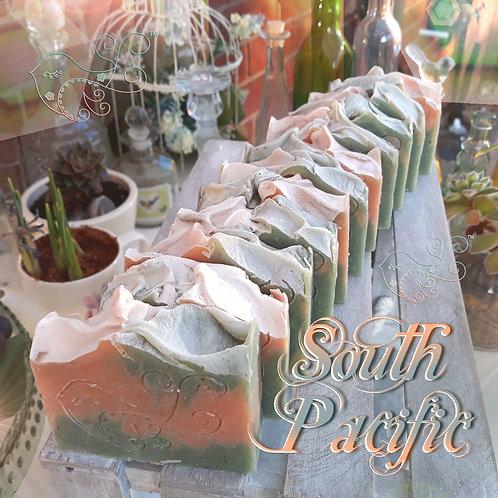 South Pacific Soap Bar (Ylang Ylang Orange & Siberian Blue Clay)