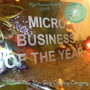 Little Blue Hen Soap Scoops Awards!