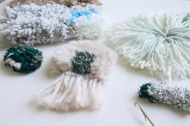 【初階入門】鉤繡 - 海毯