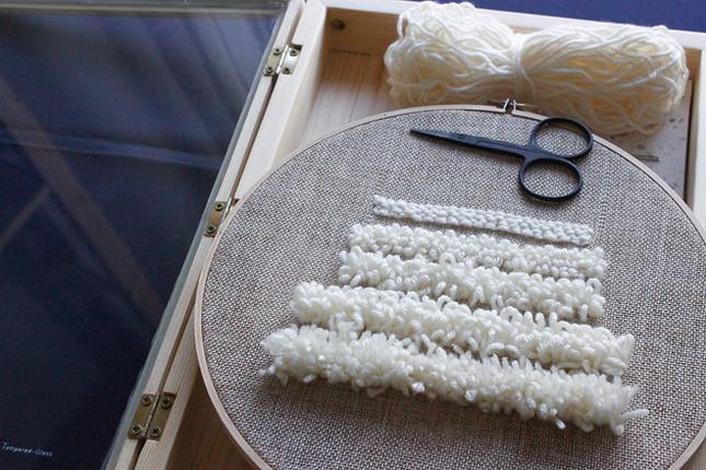 【写生織物】 Punch Needle Embroidery篇